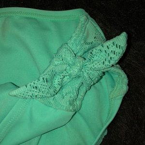 Xhilaration Swim - Seafoam green bikini bottoms (Youth XL)